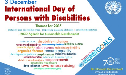 Events across the UK for IDPD 2015