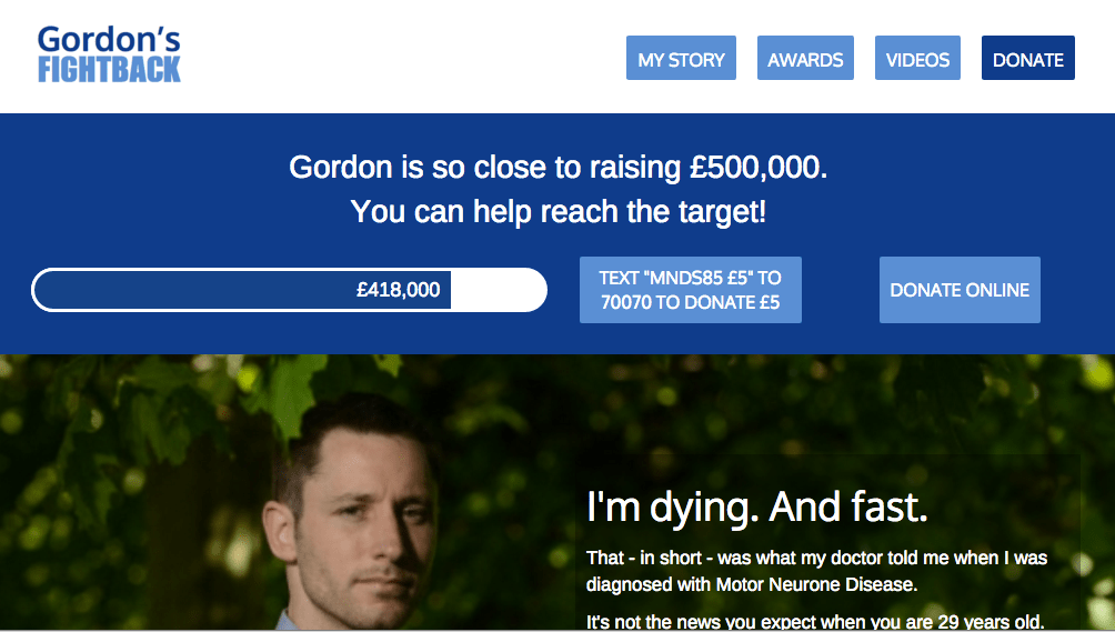 Gordon's Fightback for MND