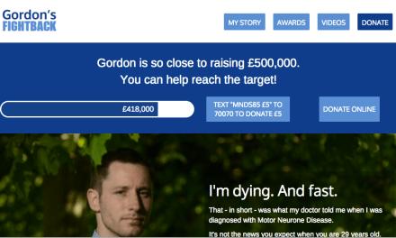 Gordon's Fightback for MND