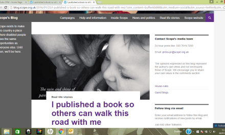 Parent of child with disability publishes book to help parents