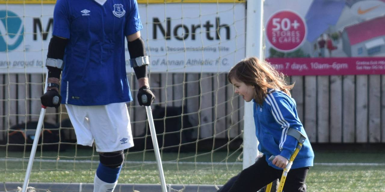 Football coming home for Amputee Players in Scotland