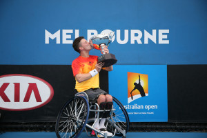 2016 Australian Open men's singles champion Gordon    Reid