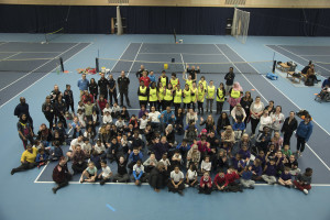 2016 Disability Tennis festival at Lee Valley Hockey and Tennis Centre