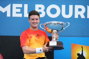 Australian Open men's singles champion Gordon Reid