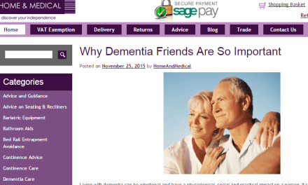 Why Dementia Friends are so important
