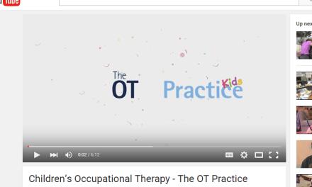 Children's OT Video by The OT Practice