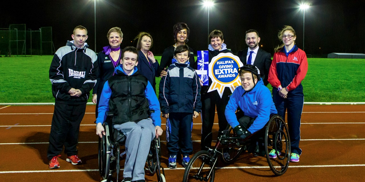 Disability Sport volunteers are Halifax Giving Extra Award winners