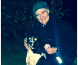 Dedicated charity supporter is preparing his paws for the ultimate endurance test