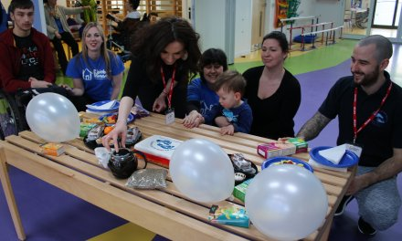 Job switch with a difference for Conductive Education Awareness Week