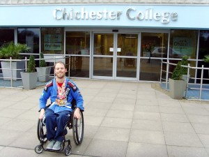 Luis Coward at Chichester College