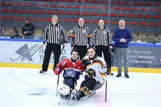 Russia lead standings after win at IPC Ice Sledge Hockey European Championships
