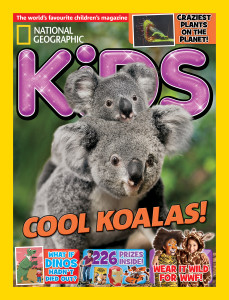 Nat Geo Kids front cover image