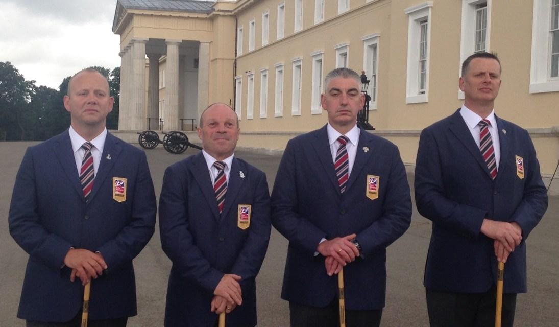 Three blind veterans make history at Sandhurst world championships