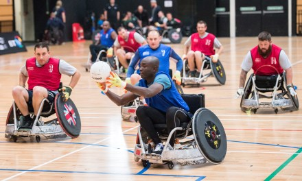 Participate in groundbreaking research with enei and Great Britain Wheelchair Rugby