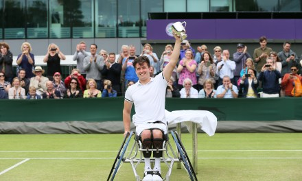 Reid wins historic Wimbledon wheelchair tennis singles title