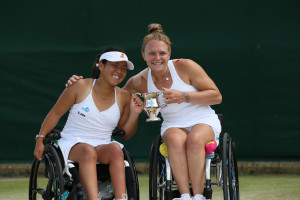 Jordanne Whiley Wimbledon Doubles Champion
