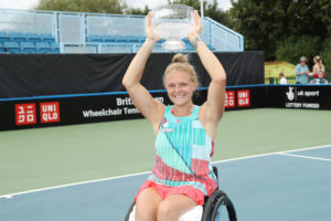 Jordanne Whiley Singles Champion 2016