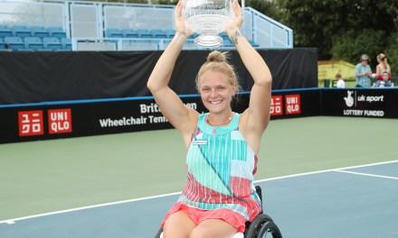 Whiley retains British Open Wheelchair Tennis Singles title