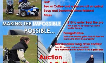 Paragolf Fundraiser Day