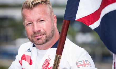 Paralympic Legend Lee Pearson selected to fly the flag for ParalympicsGB