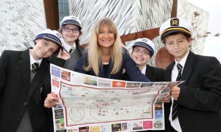 Titanic Belfast celebrates World Tourism Day with Castle Tower School