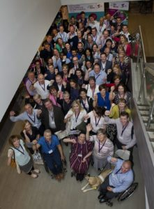 All partners in a group shot at GOGA Conference Manchester 2016