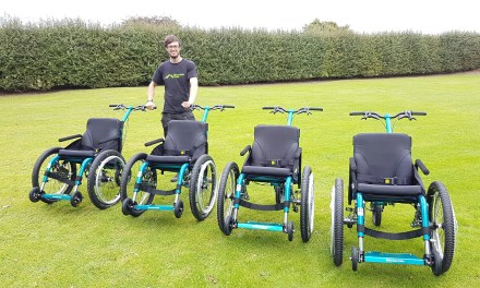 Access for all as National Trust Stourhead add Mountain Trike wheelchairs to fleet