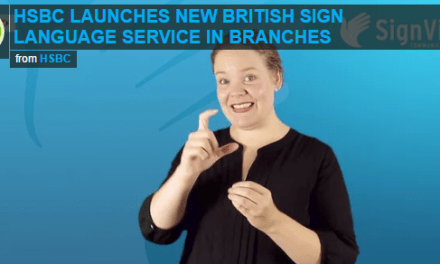 HSBC launches new British sign language service in branches