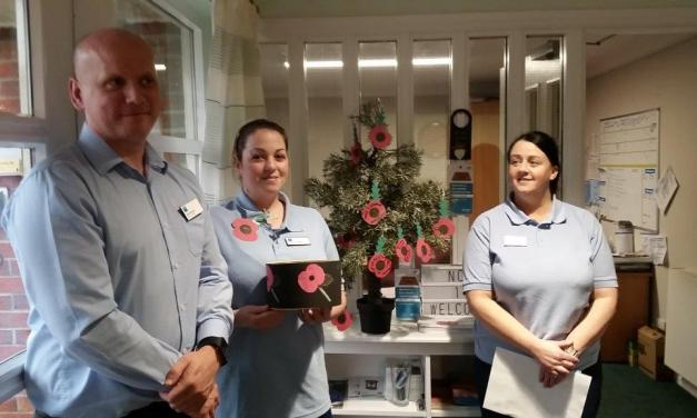 Glasgow Care Home's Remembrance Day Tribute