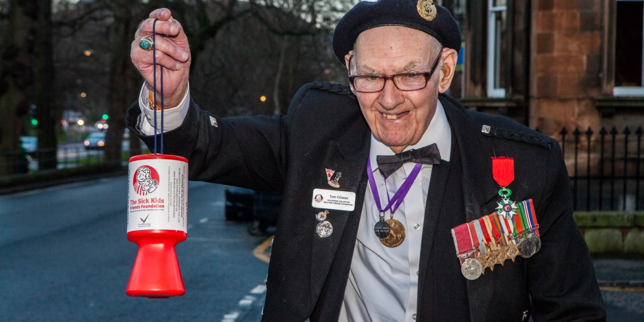 Edinburgh Charity Gives Back To Local Fundraising Hero