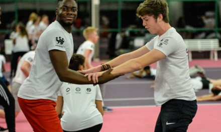 Olympic and Paralympic stars of tomorrow join Hannah Cockroft at National Talent Camp