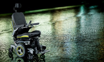New powered wheelchair from Quickie wheelchairs is head and shoulders above the rest!