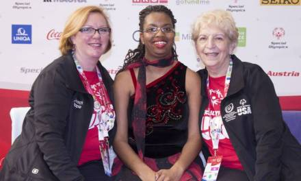 Twin sisters skate to Special Olympics success for the US