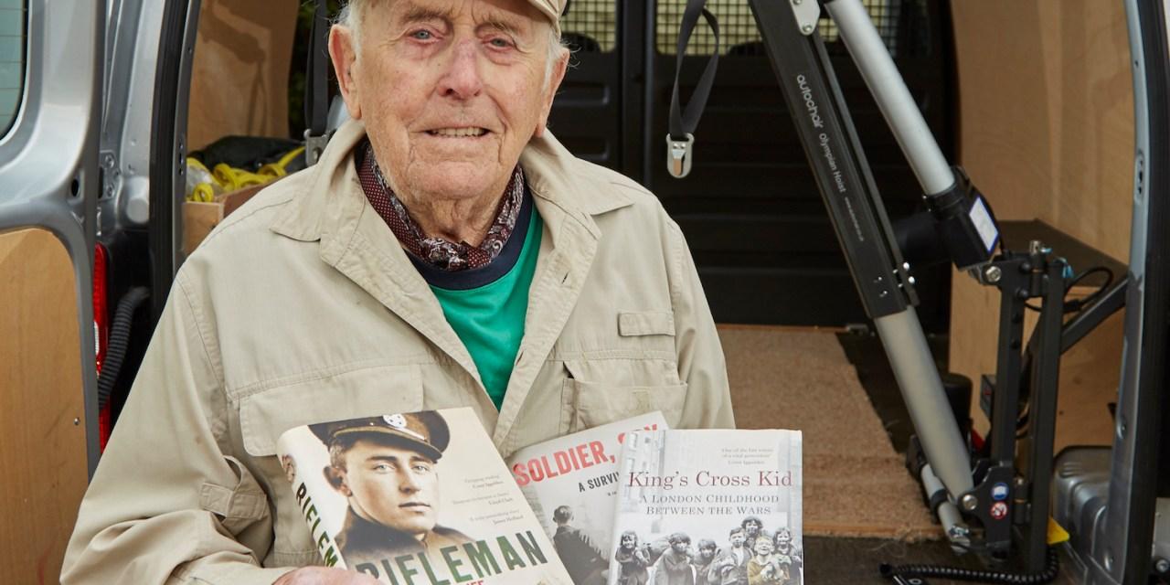 Autochair brings renewed freedom to WW2 rifleman and author