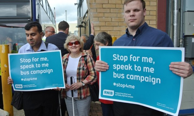 Go-Ahead sign up to RNIB's Bus Charter