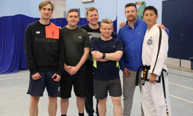 Army Veterans combatting mental health issues through Taekwon-do