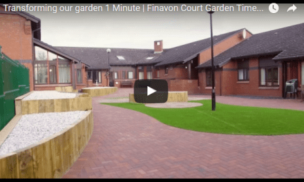 Glenrothes dementia friendly garden takes shape