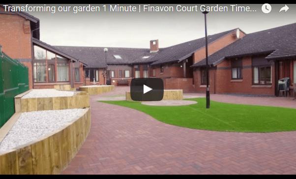 Glenrothes dementia friendly garden takes shape
