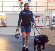 Guide Dog owner Lora is an inspiration