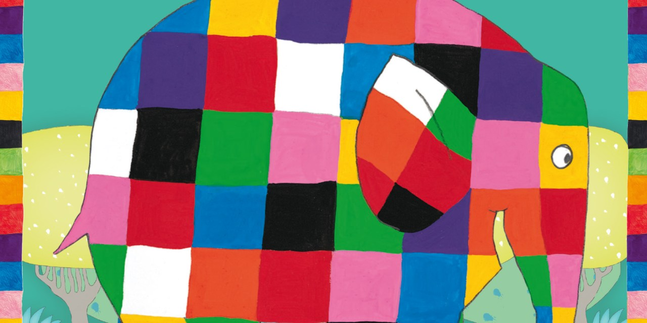 Elmer the patchwork elephant comes to mac Birmingham this Easter with BSL and relaxed performances