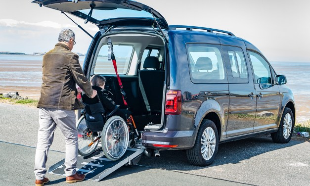 Lewis Reed launches largest range of wheelchair accessible VW Caddy's in the UK