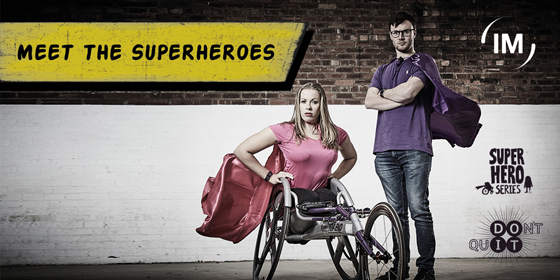 Inclusive Sports Champions Irwin Mitchell Support Superhero Series