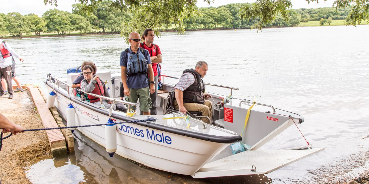 New accessible Wheelyboat on the River Hamble