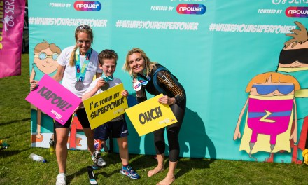 Ottobock and Dorset Orthopaedic team up for super-success at the Superhero Series Triathlon