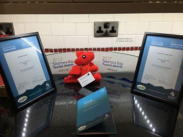 Bramwood Holiday Homes win at Swansea Bay Tourism Awards