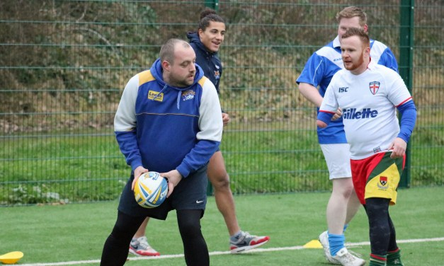UK's first physical disability rugby league game