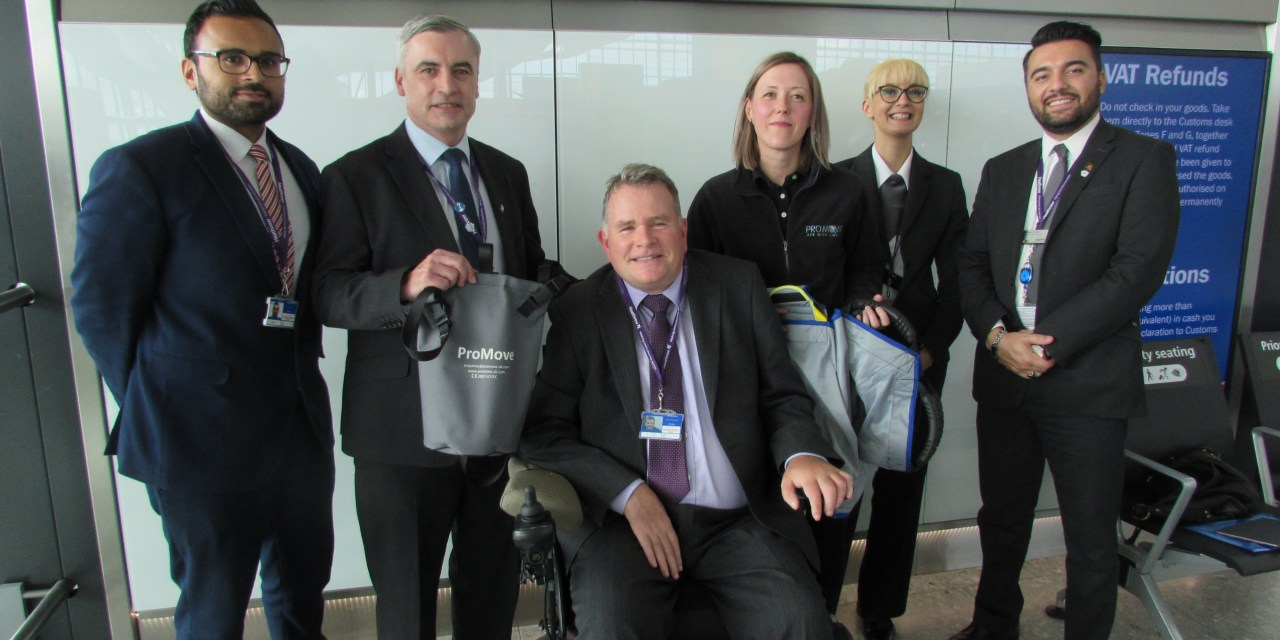 Heathrow installs 100 new ProMove Slings