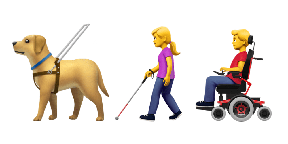 Apple propose new disability emojis