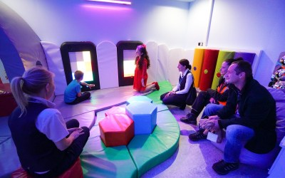 New sensory room opens at Gatwick airport