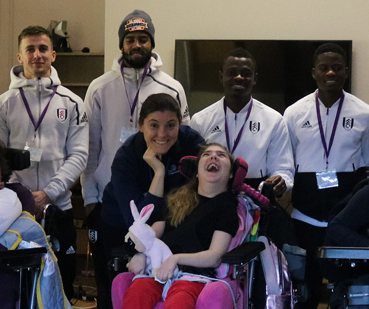 Fulham FC enjoy debut play of The Children's Trust charity Christmas single